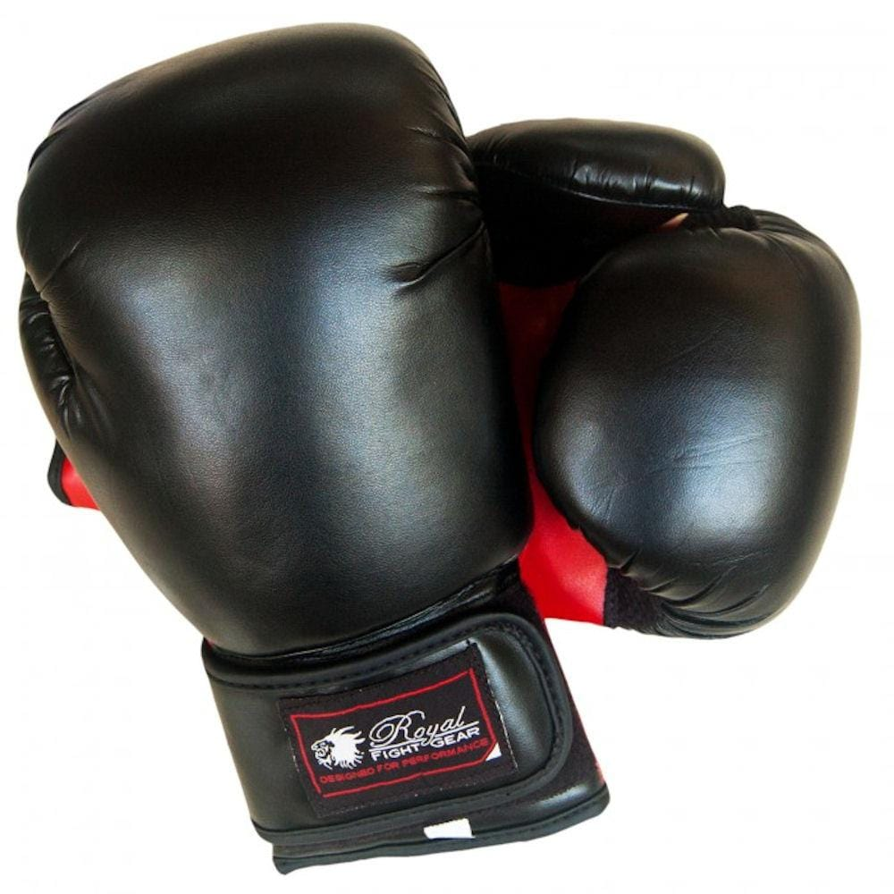 ROYAL FIGHT GEAR V.2 ARTIFICIAL LEATHER BOXING GLOVES - BlackBeltShop