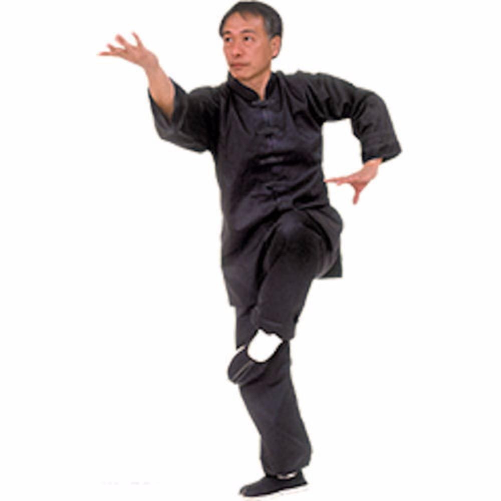 TigerClaw Black Kung Fu Uniform - BlackBeltShop