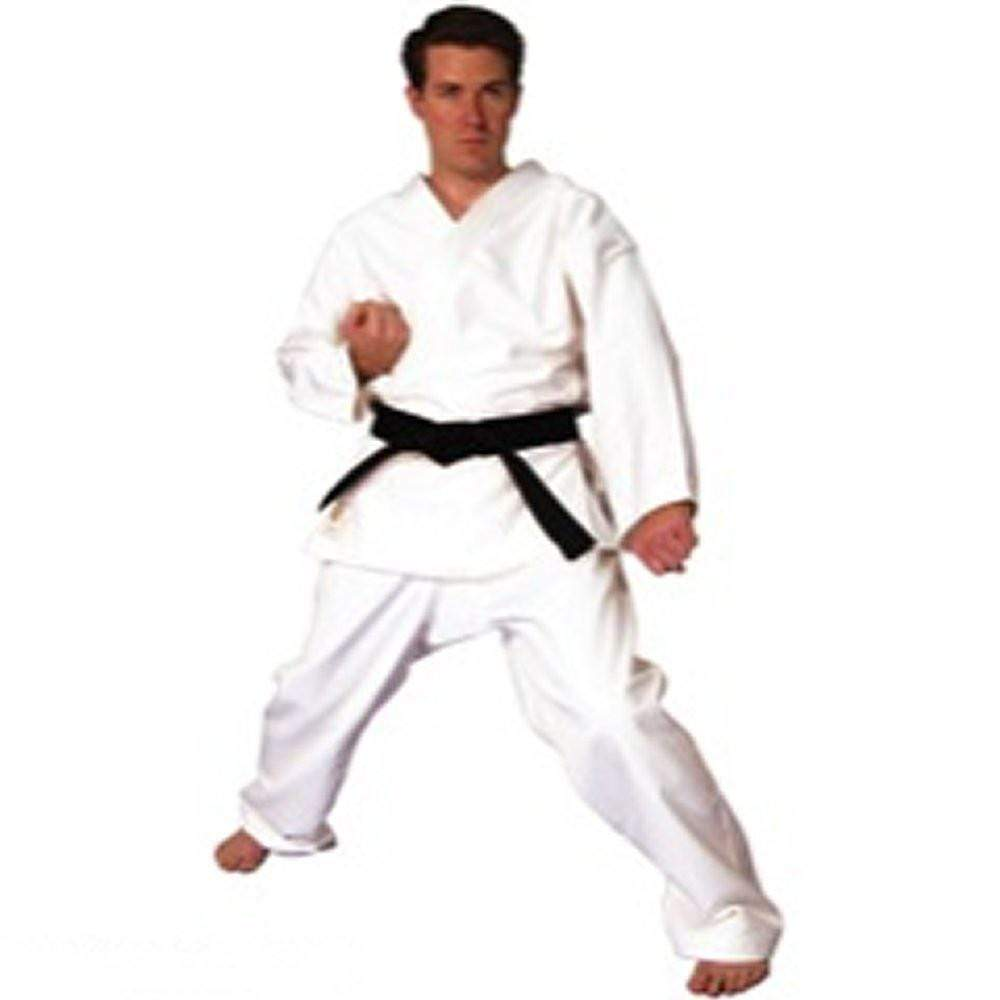 Heavy Weight White Martial Arts Karate Uniform - BlackBeltShop