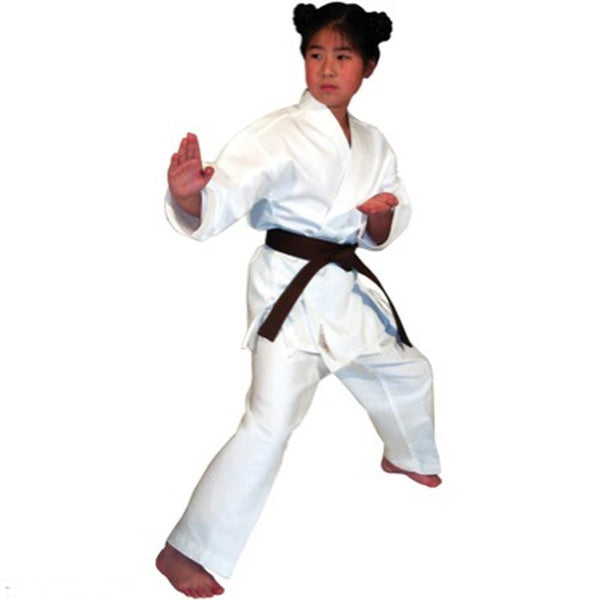 tigerclaw Light Weight White Martial Arts Karate Uniform