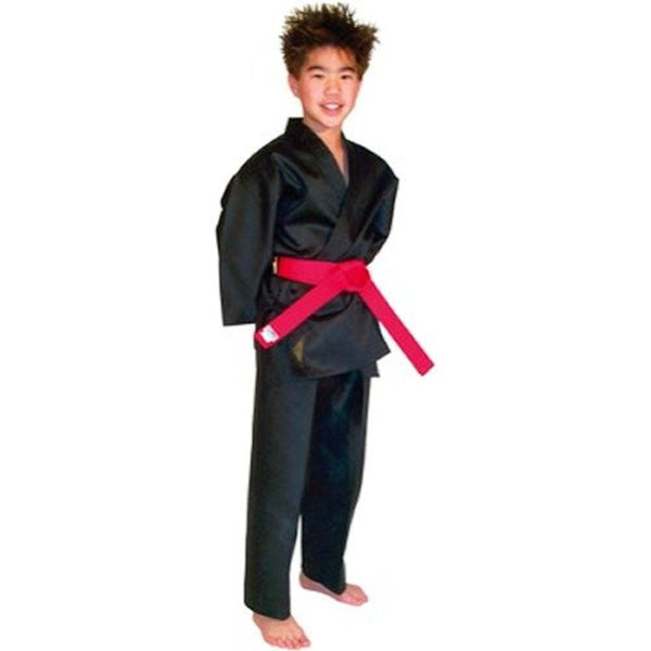 Light Weight Black Martial Arts Karate Uniform