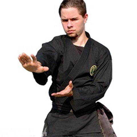 Light Weight Black Martial Arts Karate Uniform Top ONLY - BlackBeltShop
