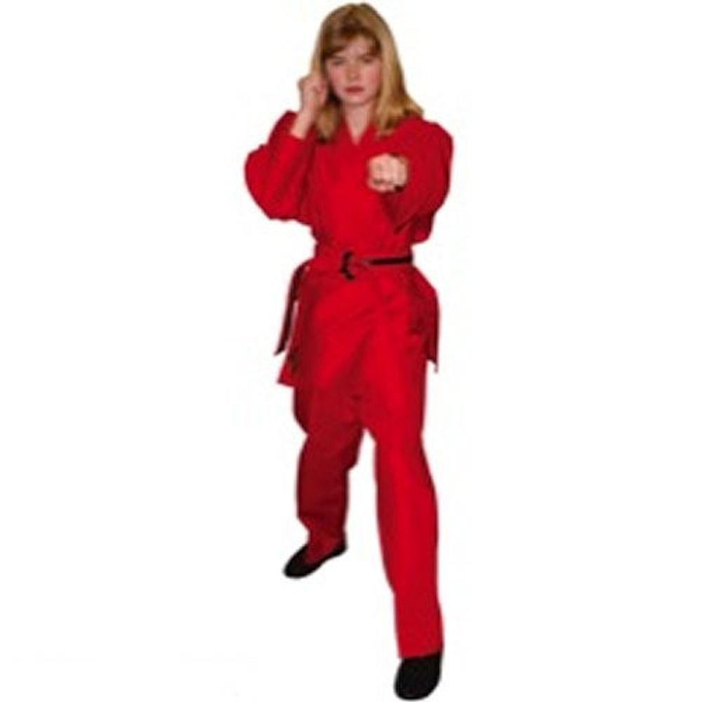 Light Weight  Red Martial Arts Karate Uniform - BlackBeltShop