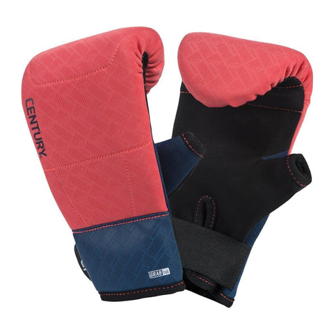 BRAVE WOMEN'S NEOPRENE BAG GLOVES - CORAL/NAVY - BlackBeltShop