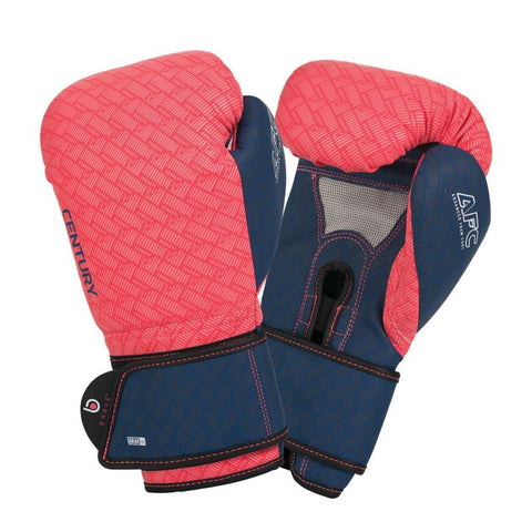 BRAVE WOMEN'S BOXING GLOVES - CORAL/NAVY - BlackBeltShop