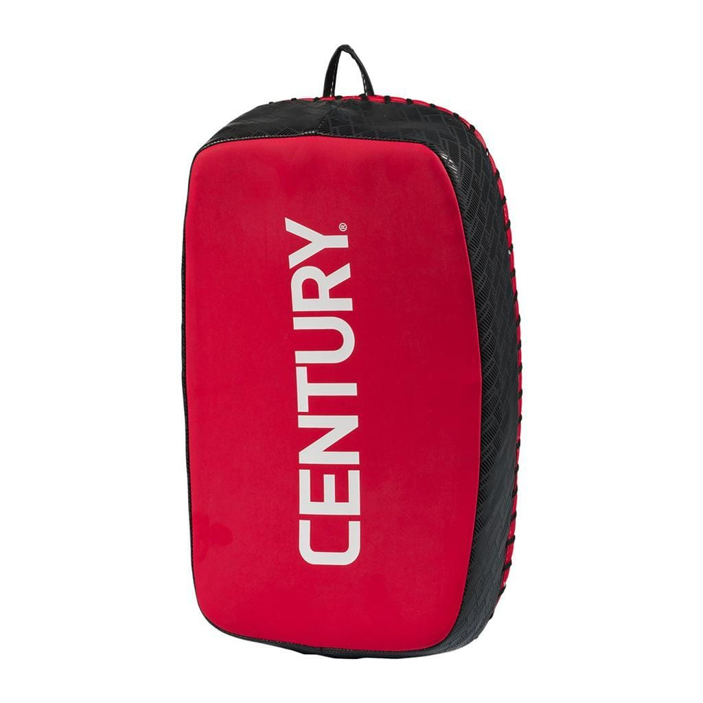 BRAVE CURVED MUAY THAI PAD - RED/BLACK