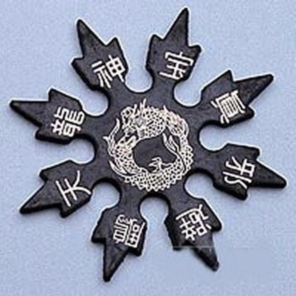 4 in. Dragon Soft Foam Rubber Star