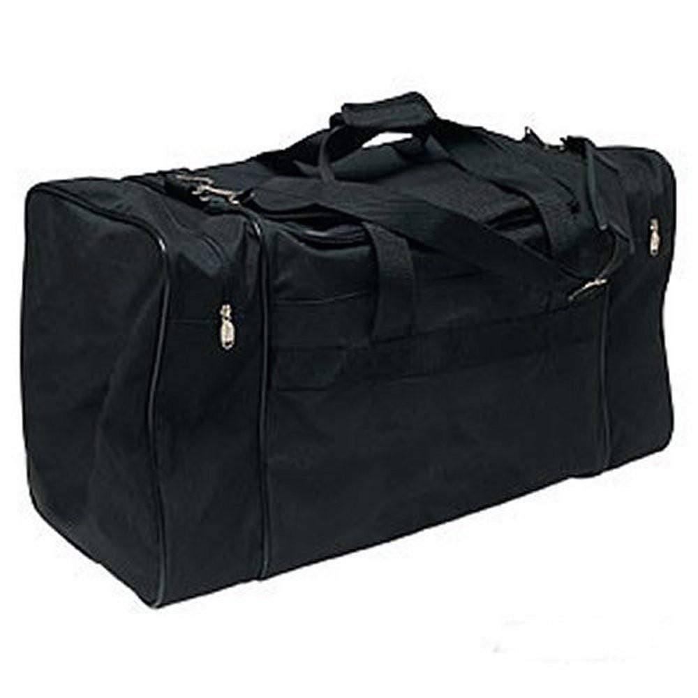 Plain Black Locker Gear Bag - BlackBeltShop