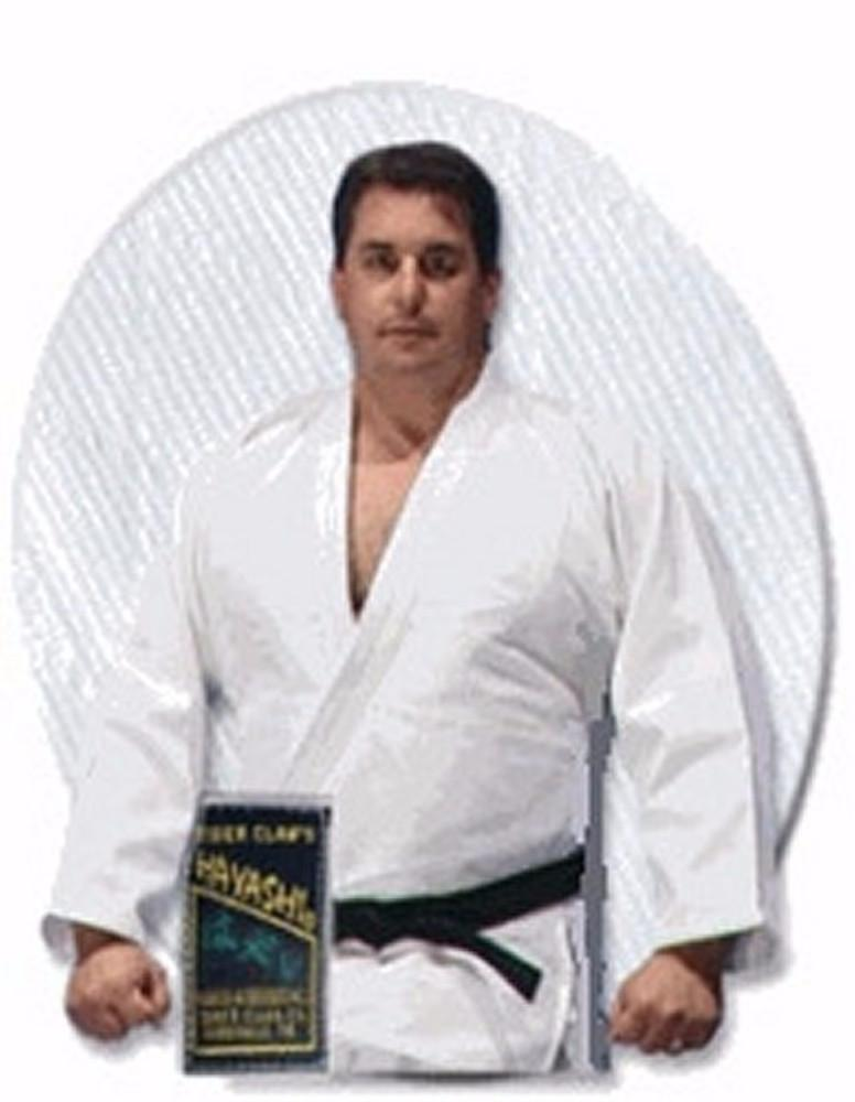 Hayashi Bleached Single Weave Judo Uniform - BlackBeltShop