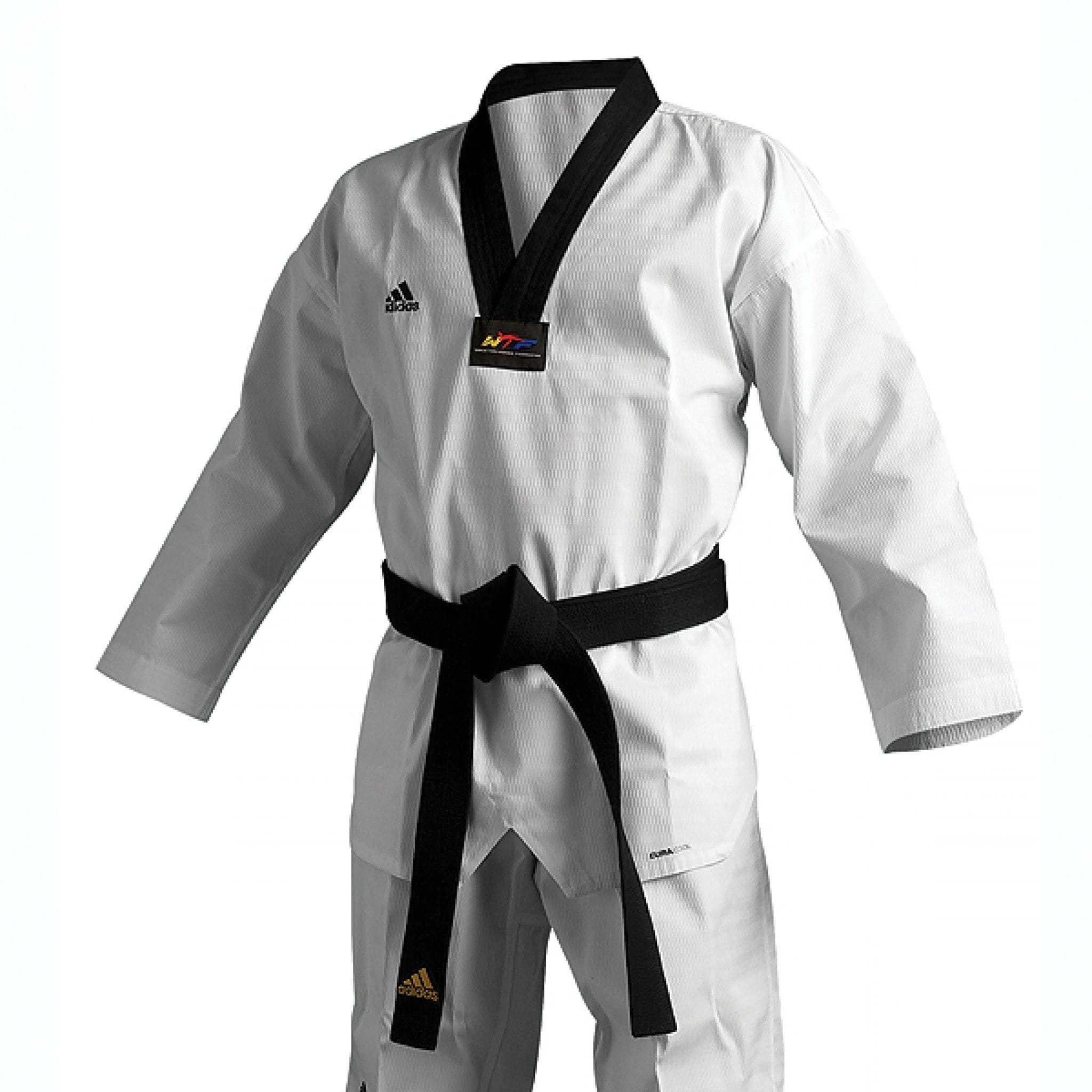 black lapel ADI-CHAMP III TKD UNIFORM