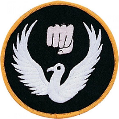 Fist Dove Patch c08-p10 - BlackBeltShop