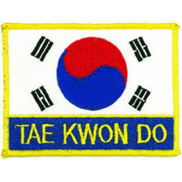 Korean Flag Tae Kwon Do Patch B2144 Blackbeltshop