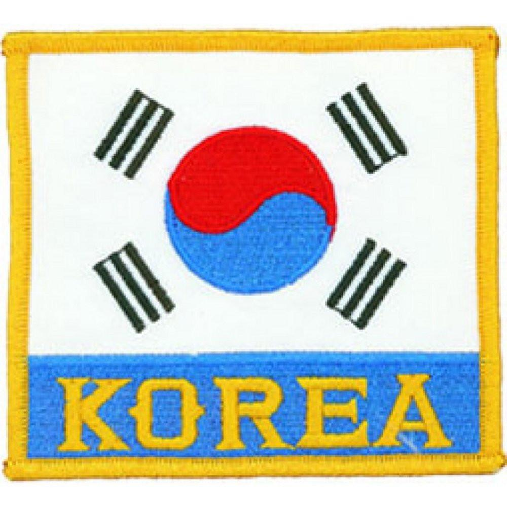 Korean Flag Deluxe Patch b2145 - BlackBeltShop