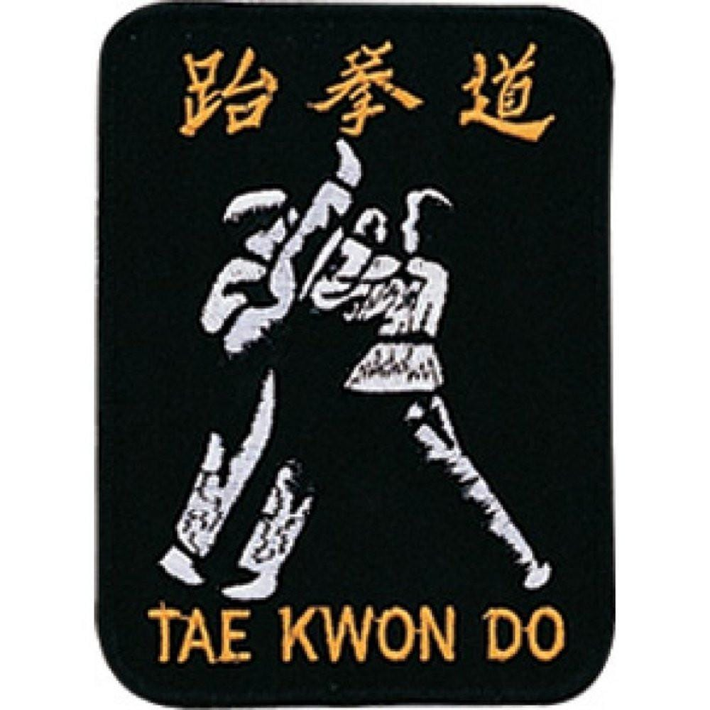 Tae Kwon Do Kick Patch aw3311 - BlackBeltShop