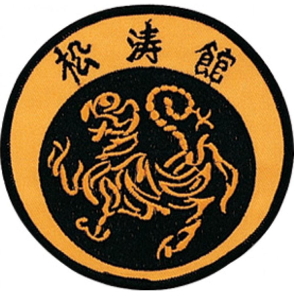 Mini Shotokan Tiger Patch - BlackBeltShop