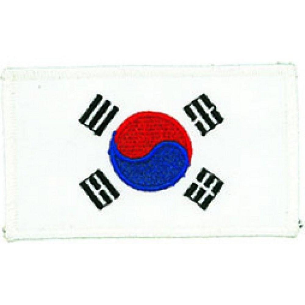Korean Flag Patch b2479 - BlackBeltShop