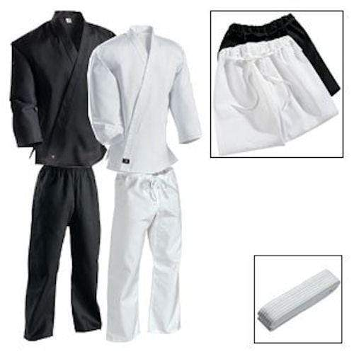 Middleweight Student Martial Arts Karate Uniform with Drawstring Pant