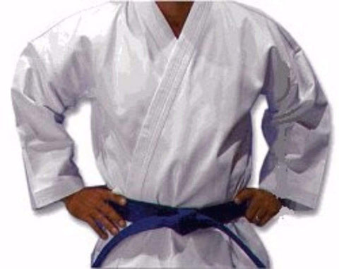Heavy Weight White Martial Arts Karate Uniform Top - BlackBeltShop