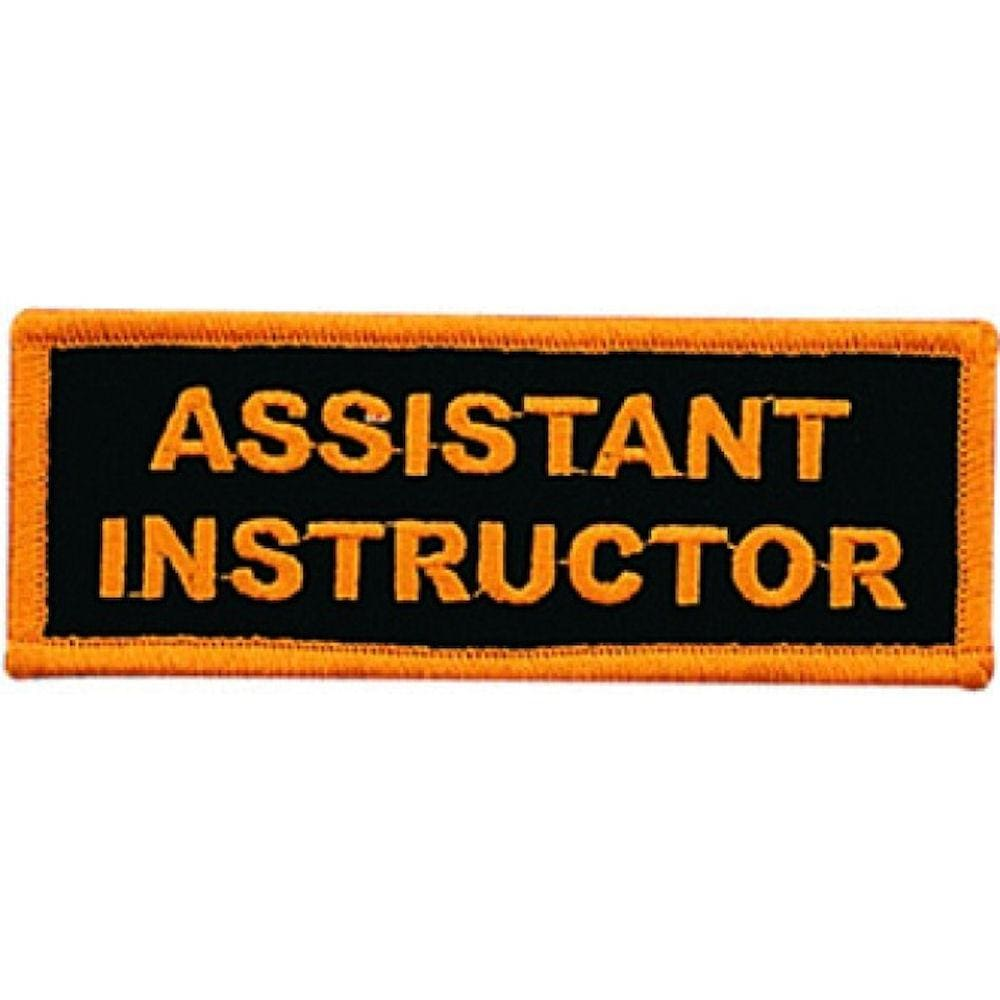 BOLD ASSISTANT INSTRUCTOR PATCH