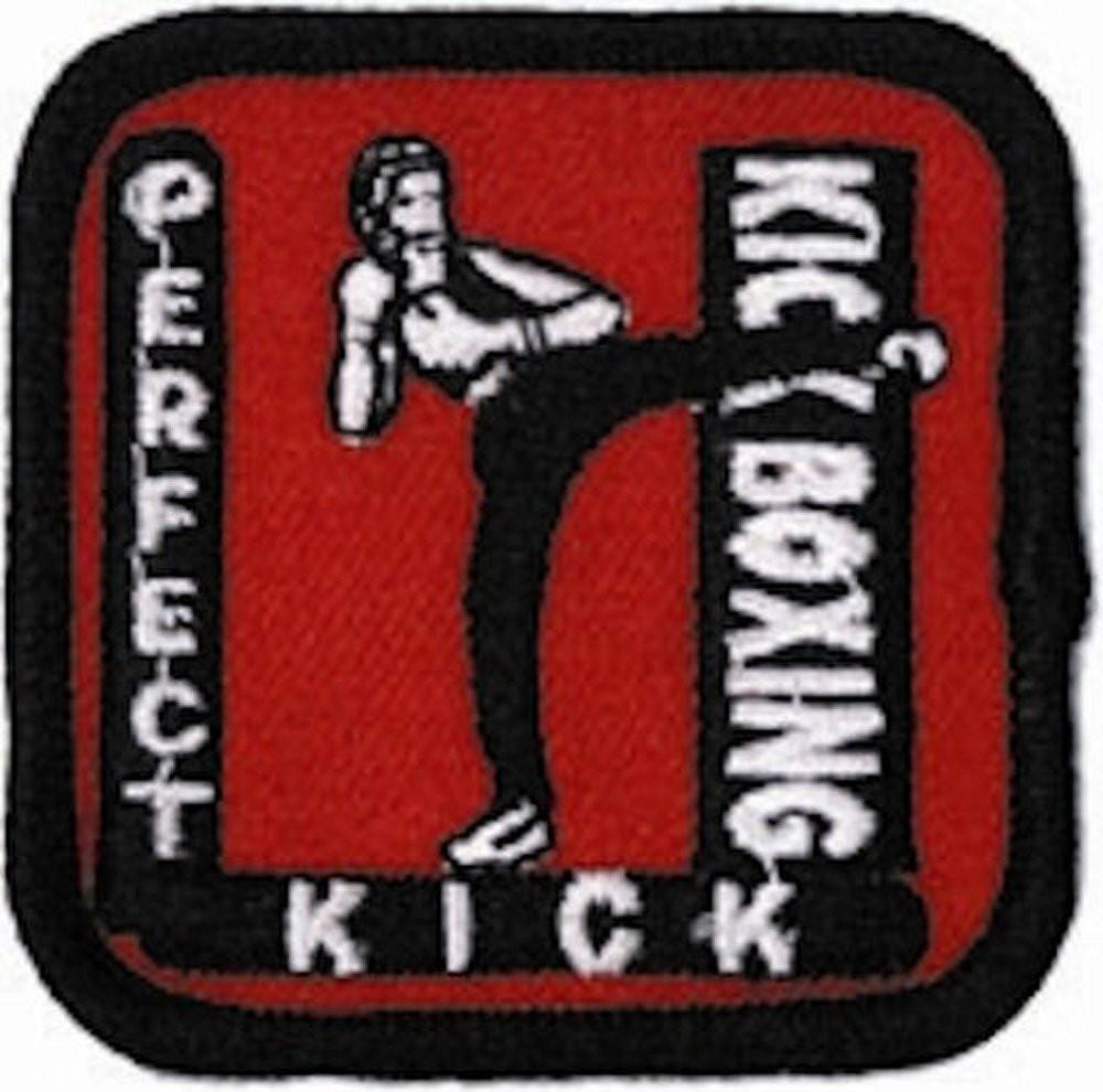 Perfect Kick Kick Boxing Patch - BlackBeltShop