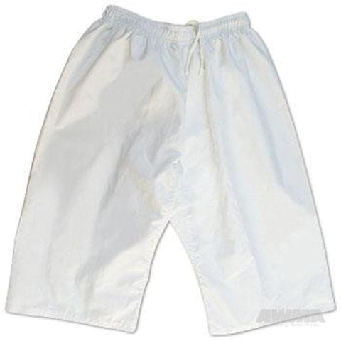 ProForce 6oz Martial Arts Shorts - White - BlackBeltShop