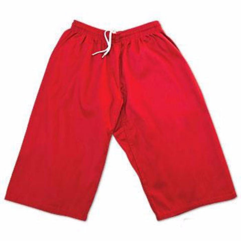 ProForce Gladiator 6oz Martial Arts Shorts - Red - BlackBeltShop