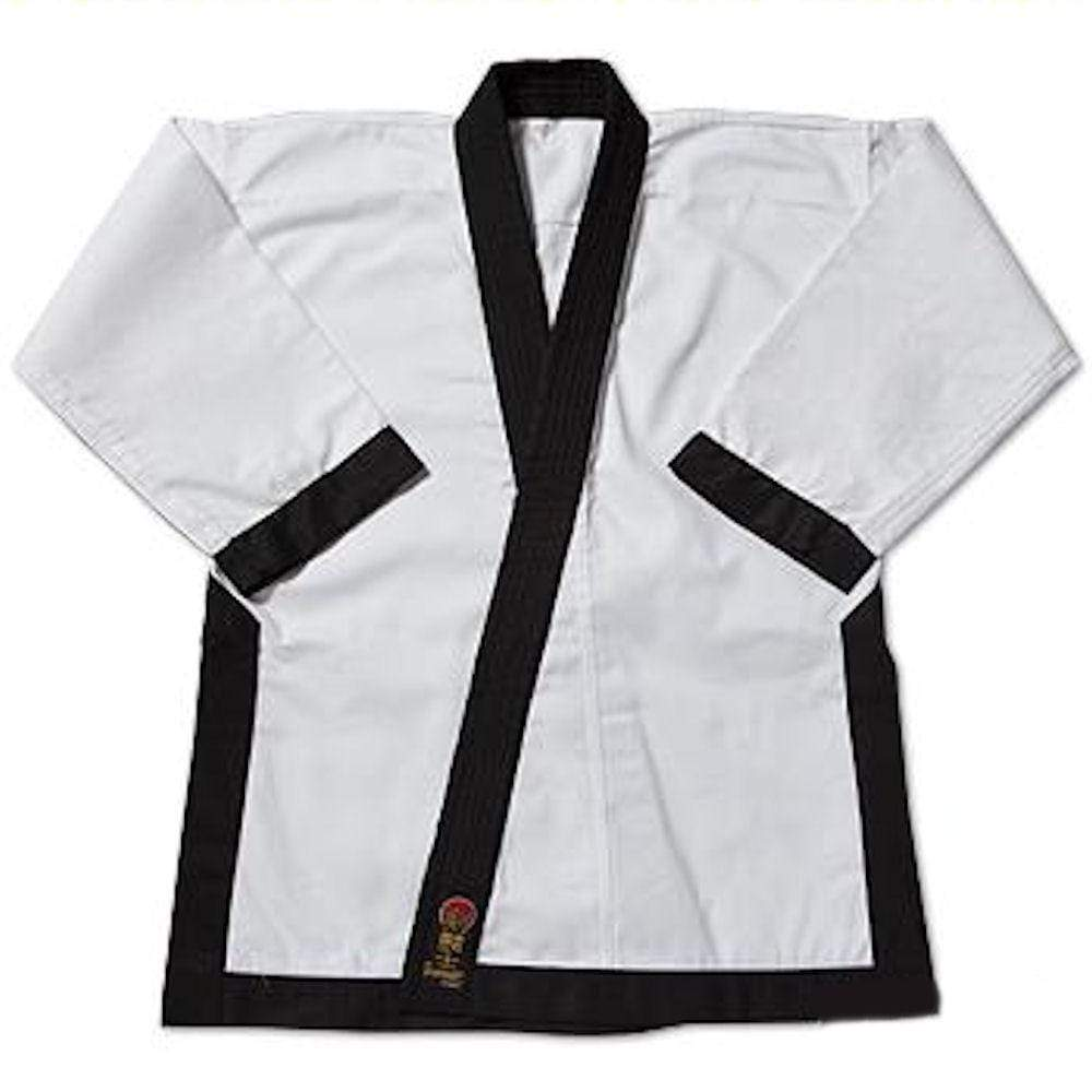 ProForce® Gladiator 7.5 oz. Tang Soo Do Trimmed Jackets Black