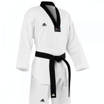 Adidas Adi-Club Taekwondo Uniform black lapel