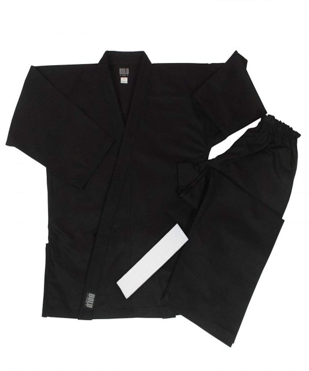 Bold Middleweight Traditional Uniform 300-BLACK - BlackBeltShop