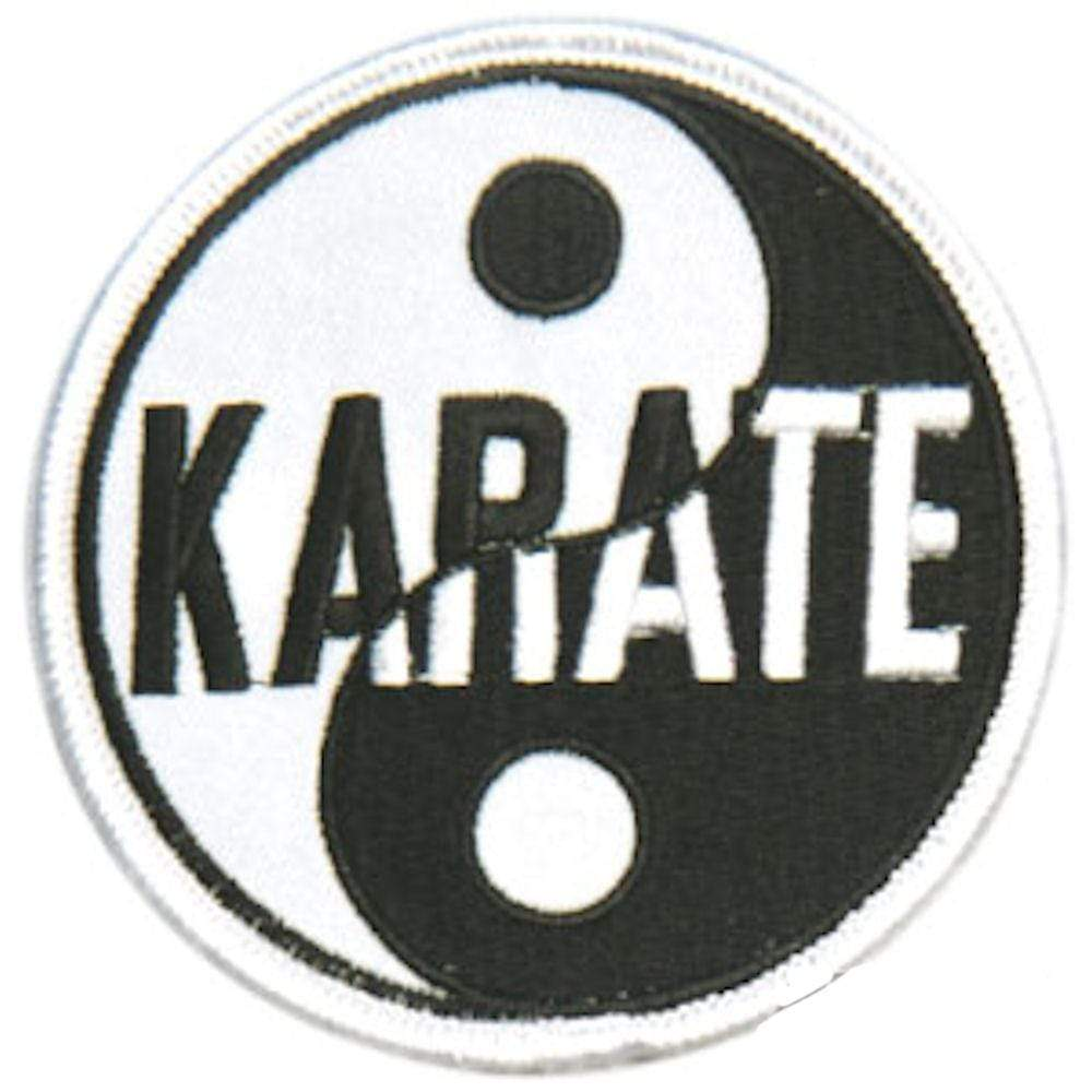 Yin & Yang Patches - Karate