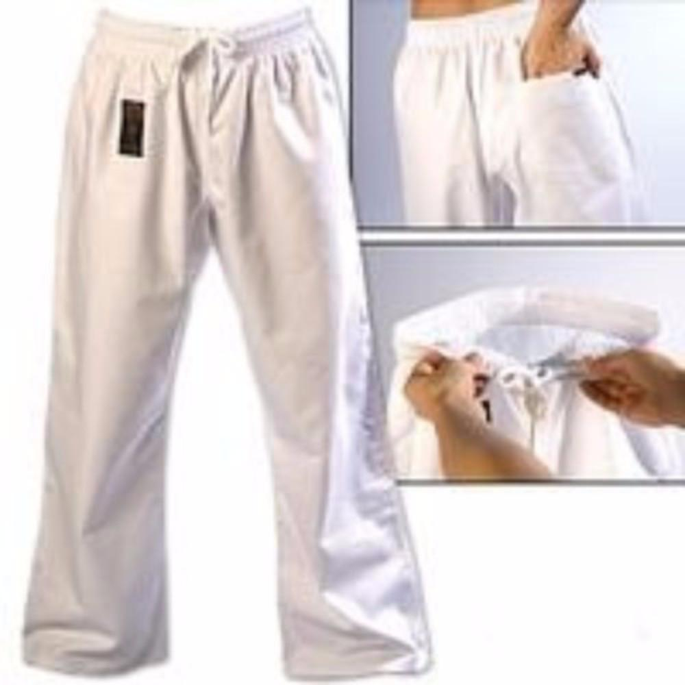 ProForce Gladiator 8 oz Combat Pants White - BlackBeltShop