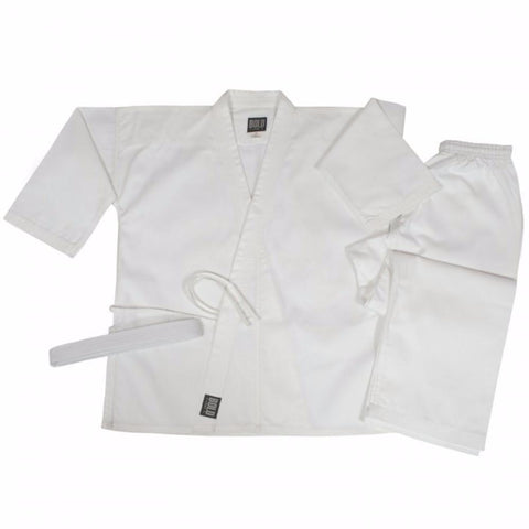 Bold 6 oz Lightweight Traditional Sets White 325w - BlackBeltShop