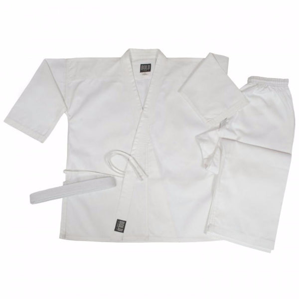 Bold 8.5 oz Super-Middleweight Traditional Uniform - White up to size 12 350-W
