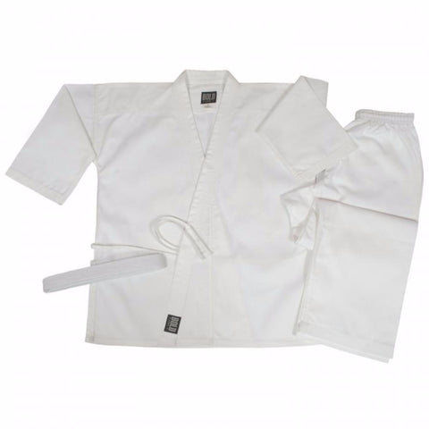 Bold 8.5 oz Super-Middleweight Traditional Uniform - White up to size 12 350-SUW - BlackBeltShop