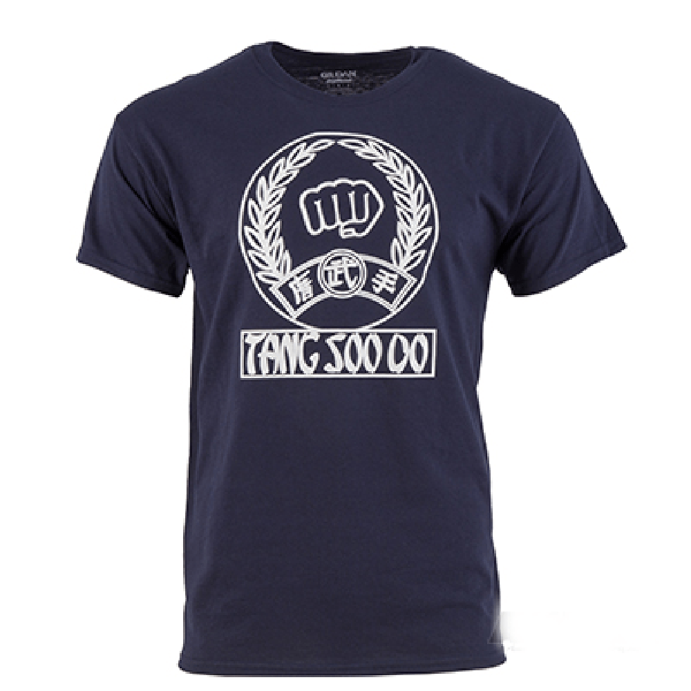 T-SHIRT Tang Soo Do Fist Color Navy - BlackBeltShop