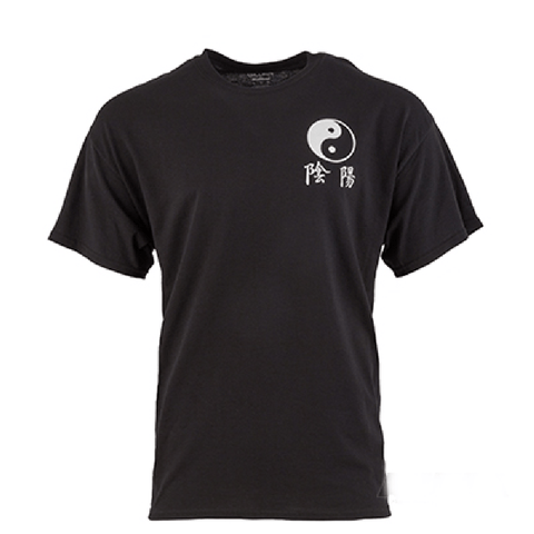 T-SHIRT Yin and Yang 3 inch - BlackBeltShop