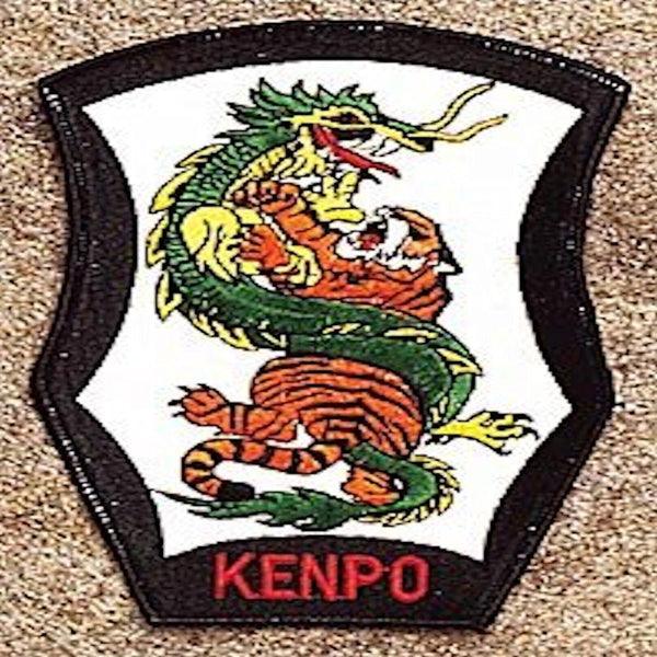 Dragon & Tiger-Kenpo Patch