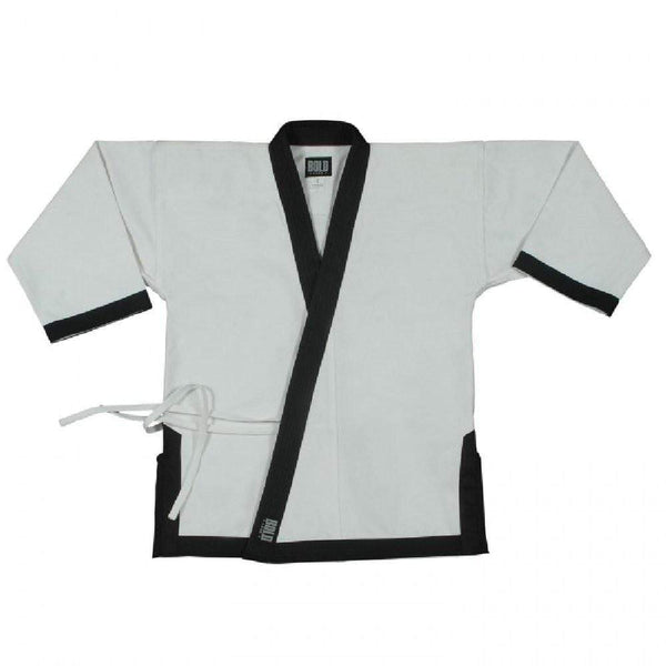 black 12 OZ HEAVYWEIGHT TRADITIONAL TOP WITH FULL TRIM