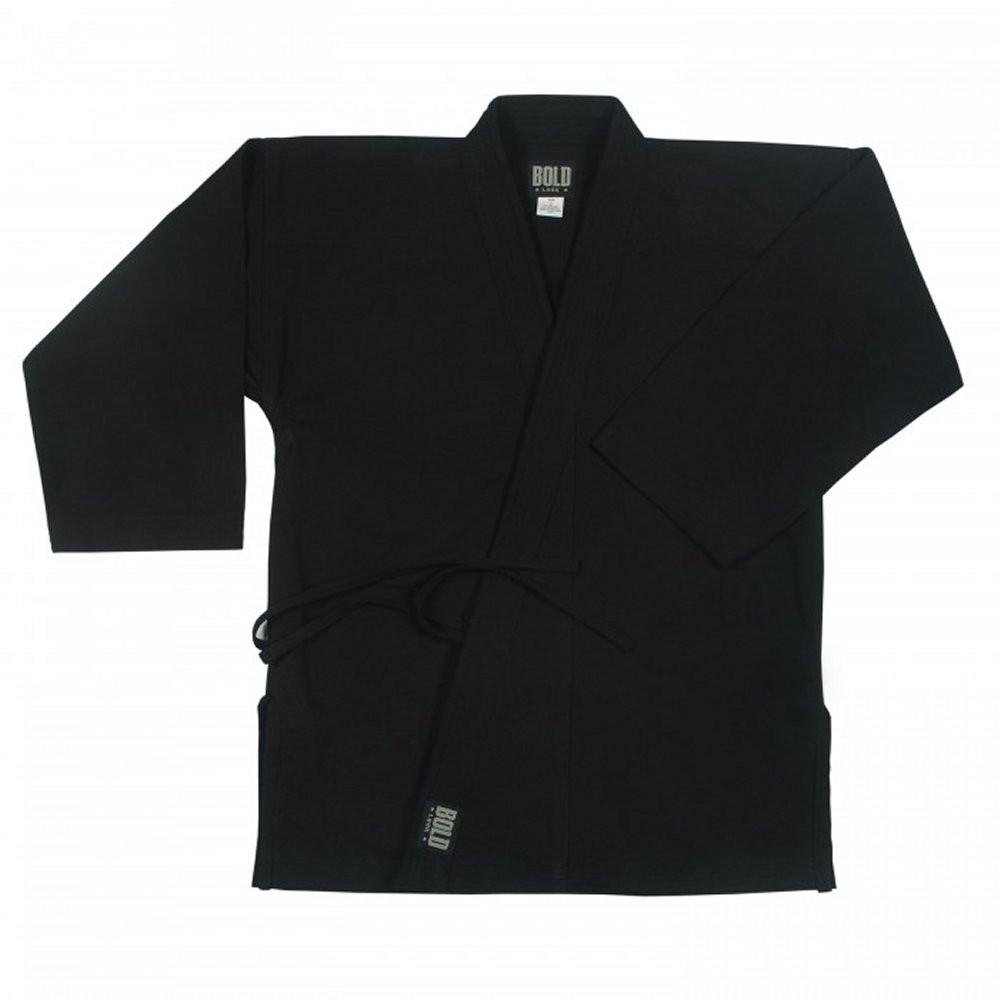 black 12OZ HEAVYWEIGHT TRADITIONAL TOPS by boldlook