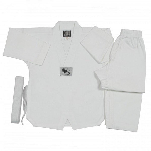 5OZ ULTRA LIGHTWEIGHT TKD V-Neck SETS by Bold  5TKD