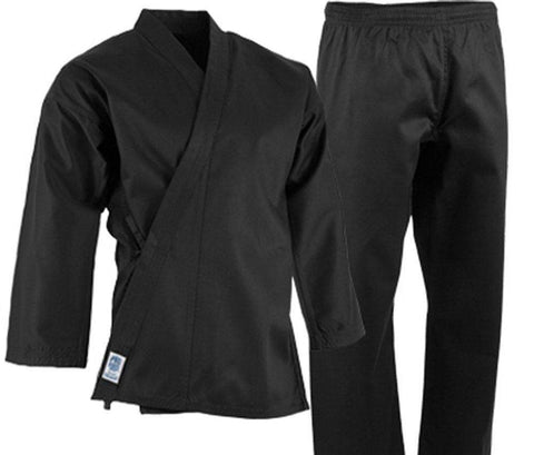 ProForce 6 oz Lightweight Student Uniform - Black Elastic Drawstring - BlackBeltShop