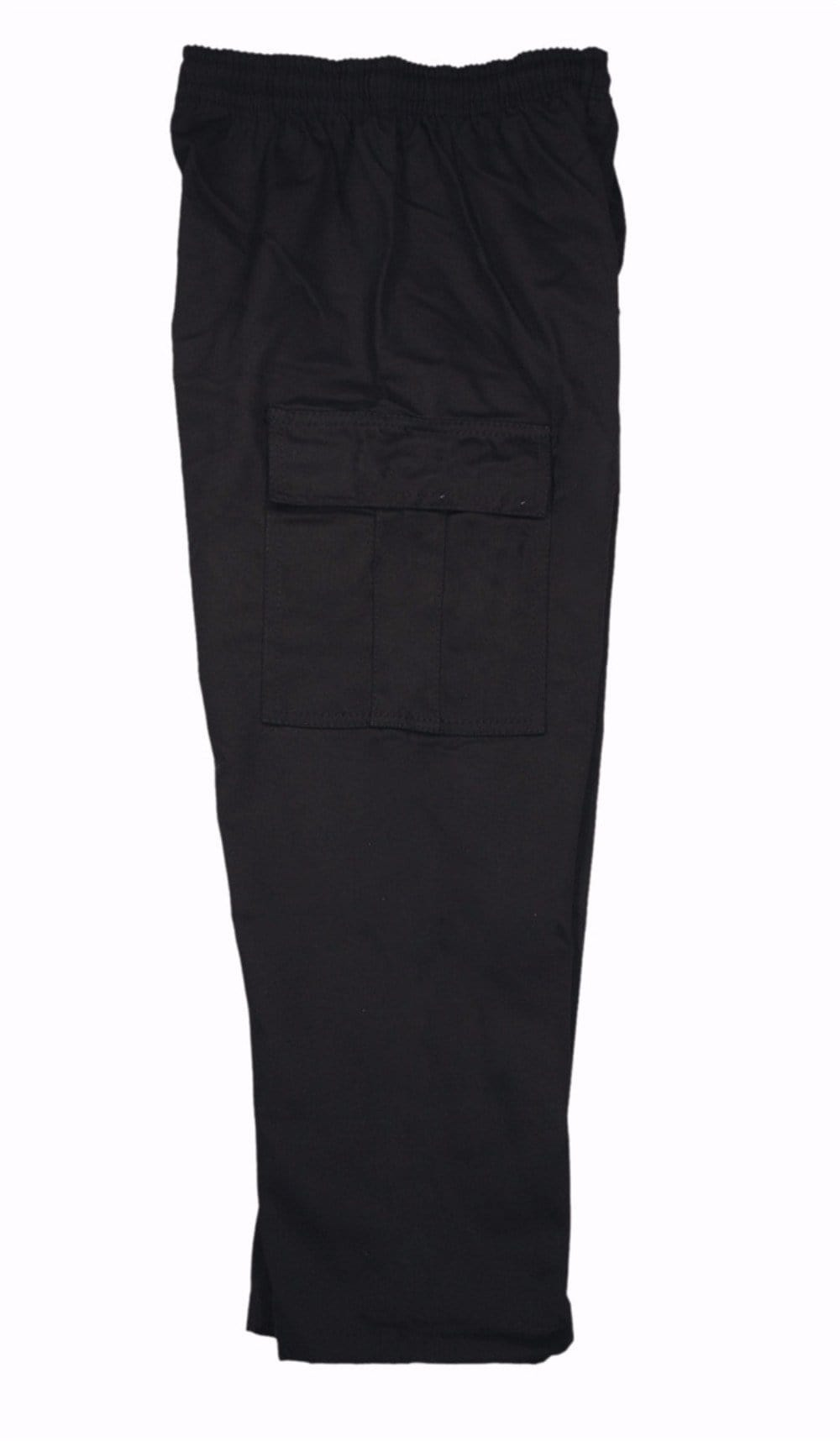 7.5 oz Black Middleweight  Cargo Pants
