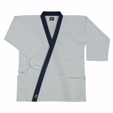 8.5OZ SUPER MIDDLEWEIGHT TOPS WITH COLLAR TRIM Tang soo do by bold b6300 - BlackBeltShop