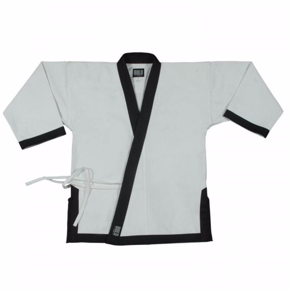 8.5OZ SUPER MIDDLEWEIGHT TOPS WITH FULL TRIM Tang Soo Do b6400 - BlackBeltShop