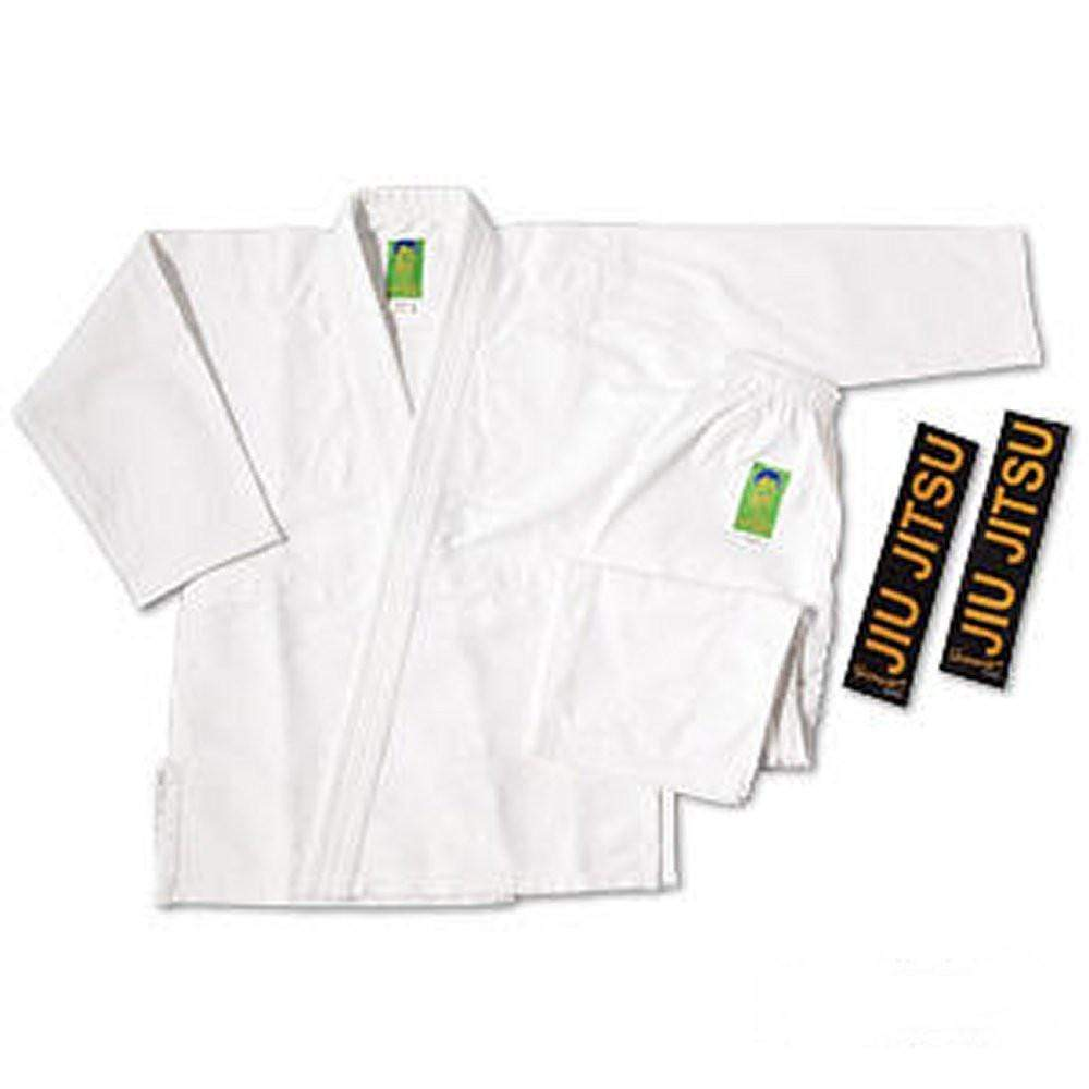 ProForce Gladiator Pearl Jiu-Jitsu Uniform White - BlackBeltShop