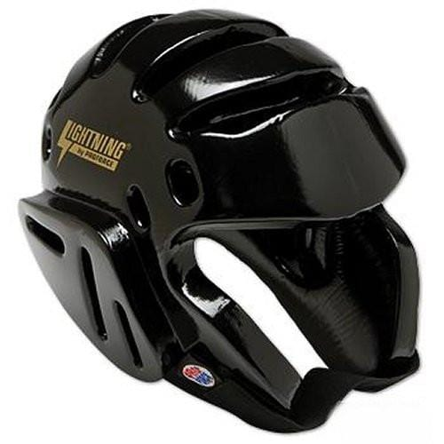 ProForce Lightning Martial Arts Sparring Head Gear - BlackBeltShop