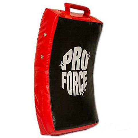 Proforce Curved Body Kick Shield Full Contact Muay Thai Kickboxing Karate Red