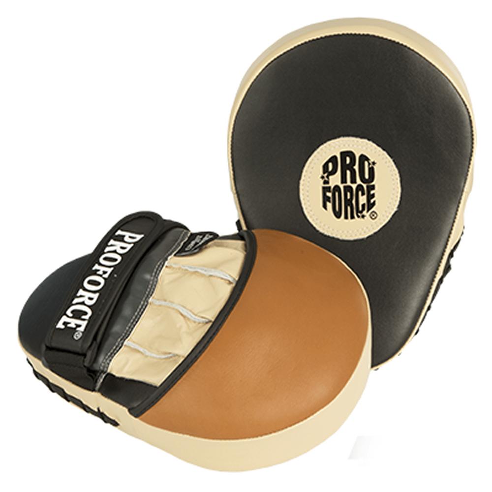 Combat By ProForce Premium Leather Focus Mitts - BlackBeltShop