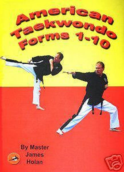 Taekwondo Forms Kata Training DVD Video karate