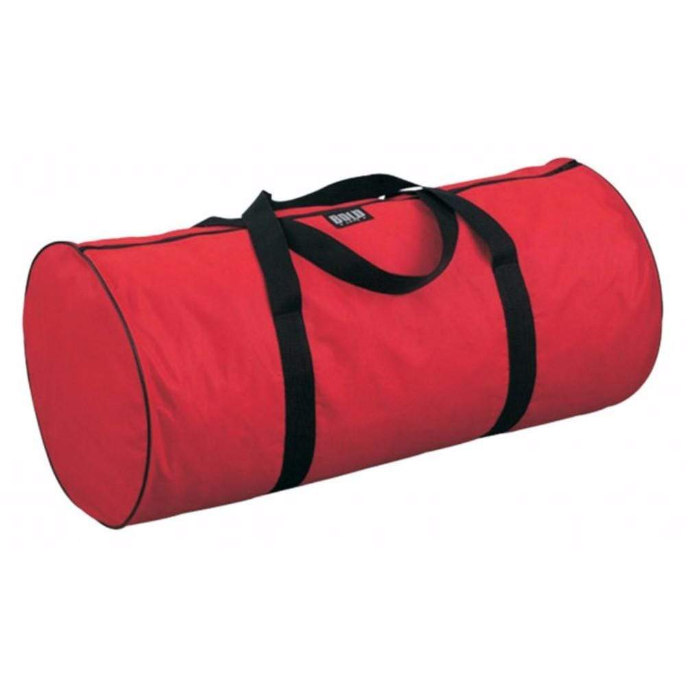 red Bold BARREL BAGS
